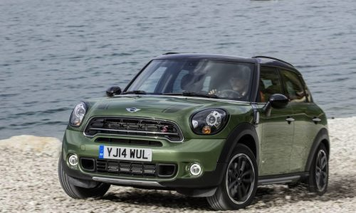 2015 MINI Countryman revealed, Cooper S more powerful