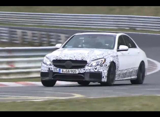 2015 Mercedes-Benz C 63 AMG prototype Nurburgring