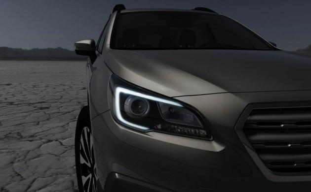 2015 Subaru Outback teaser