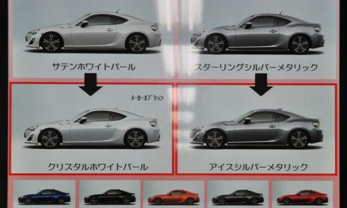 Toyota GT 86 updated with suspension & interior tweaks