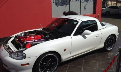 Mazda MX-5 gets a monster 2JZ engine conversion