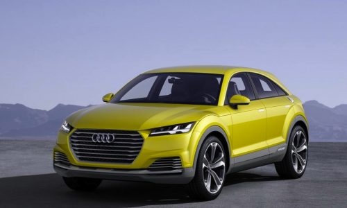Audi TT offroad concept previews possible direction