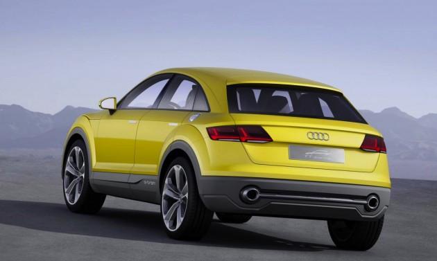 Audi TT offroad concept-rear