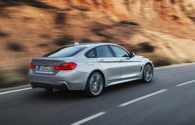 BMW 4 Series Gran Coupe-rear
