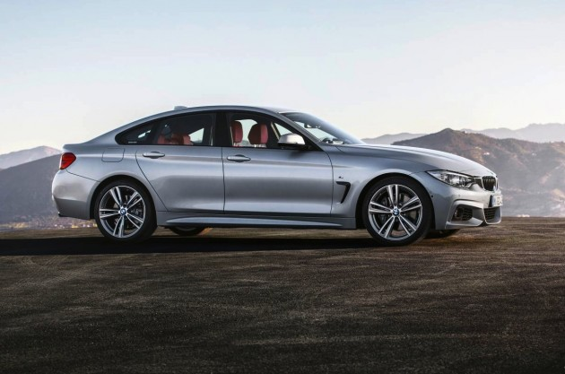 BMW 4 Series Gran Coupe-silver