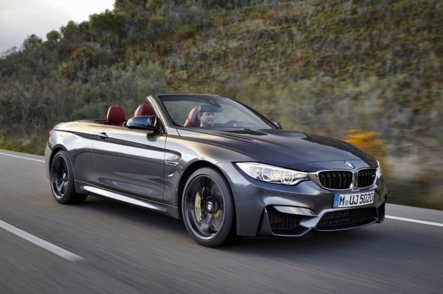 BMW M4 convertible-grey