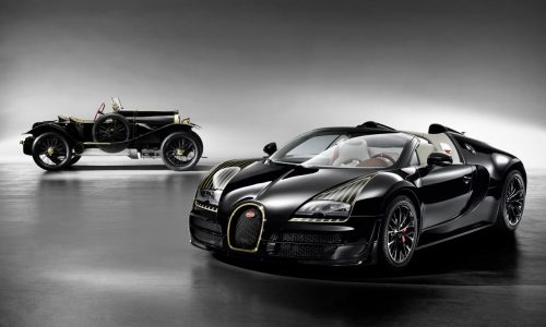 Bugatti Veyron Black Bess edition revealed, 5th 'Legends' special