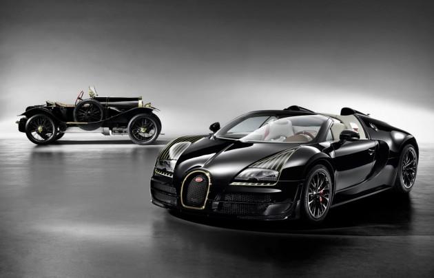 Bugatti Veyron Grand Sport Vitesse Black Bess with original
