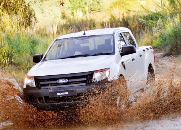 Ford Ranger 4x4 XL Plus off road