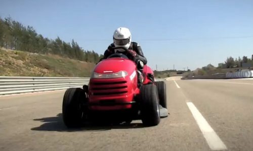 Honda Mean Mower officially fastest mower in the world