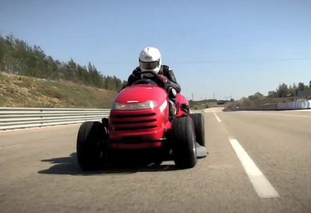 Honda Mean Mower top speed