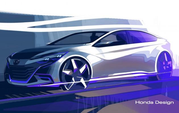 Honda coupe concept 2014 Beijing