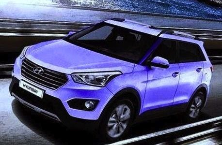 Hyundai ix25 revealed in leaked image, i20 SUV