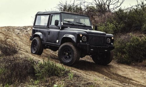 Icon Land Rover Defender 90, with 6.2 Chev V8