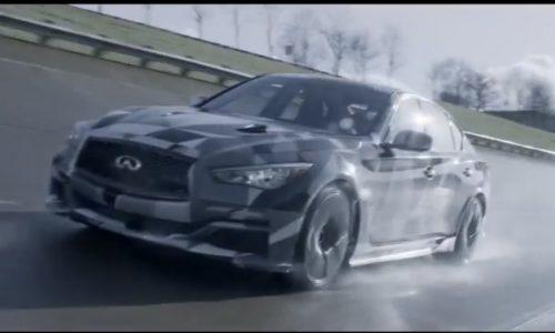 Video: Infiniti Q50 Eau Rouge prototype development underway
