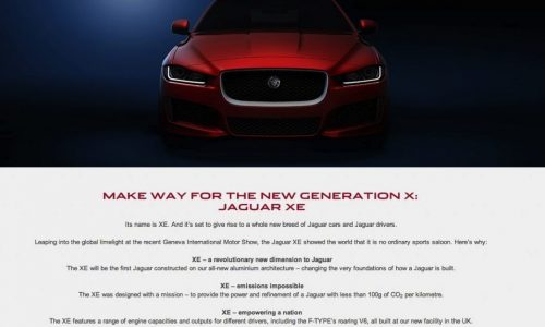 Jaguar XE getting F-Type supercharged V6