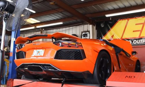 Lamborghini Aventador with nitrous makes 522kW ATW