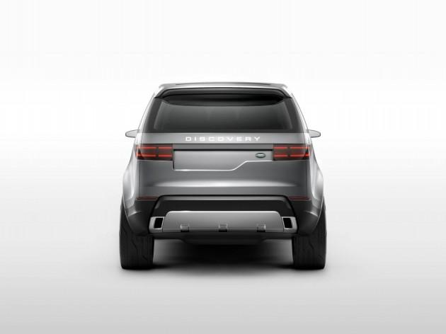 Land Rover Discovery Vision Concept exterior design
