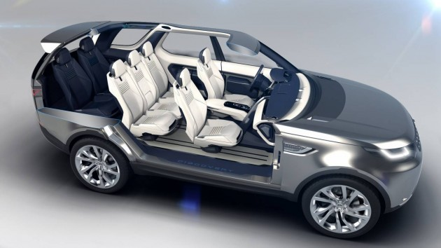 Land Rover Discovery Vision Concept seven seat