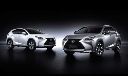 Lexus NX revealed; NX 300h, NX 200t, NX 200 confirmed