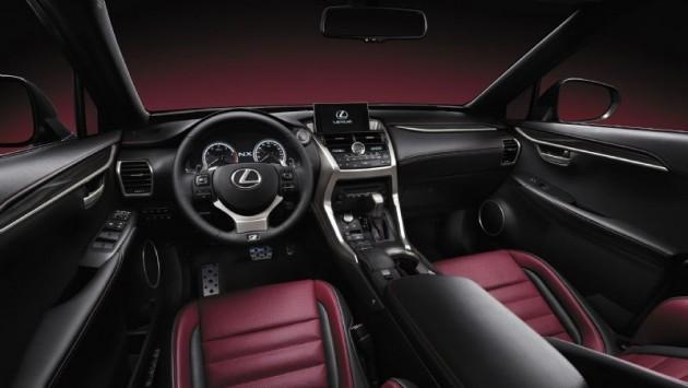 Lexus NX dash