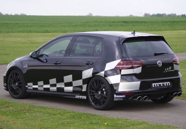 MTM Volkswagen Golf R Mk7-rear