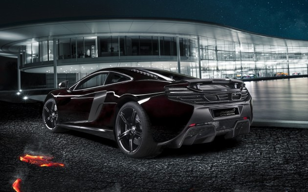 McLaren 650S MSO concept-rear