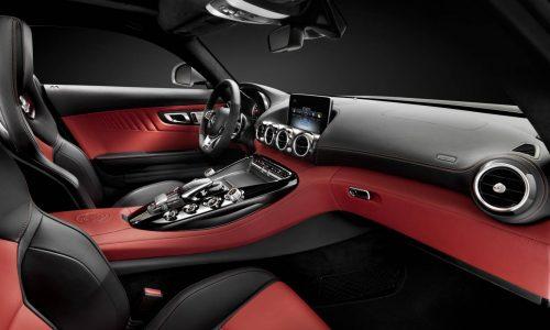 Mercedes-AMG GT interior revealed, name confirmed