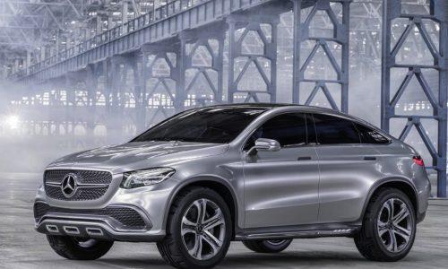 Mercedes-Benz Concept Coupe SUV previews X6 rival