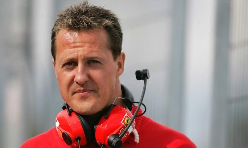 Schumacher making eye contact, recognising voices – report