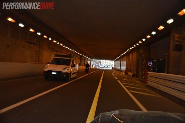 Monte Carlo tunnel exit-PerformanceDrive