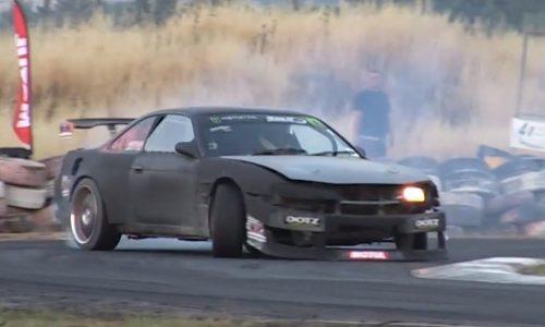 S14 Nissan Silvia gets AMG V8 engine conversion (video)