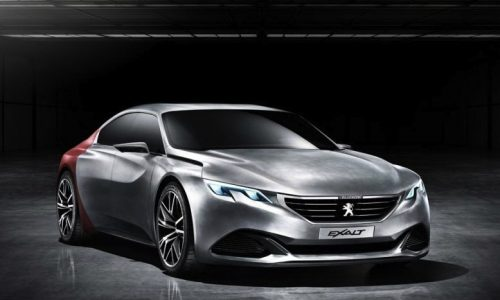 Peugeot Exalt concept previews sleek four-door coupe