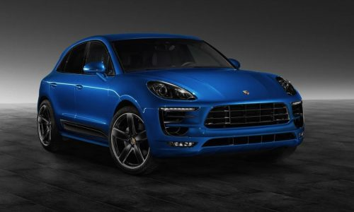 Porsche Macan S looks cool with Exclusive optons