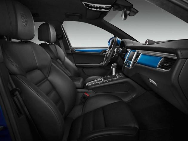 Porsche Macan S Exclusive package-interior