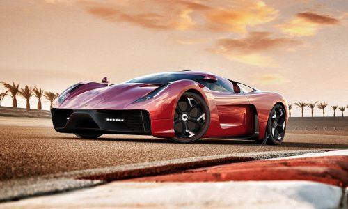 Ugur Sahin Design Project F looks amazing, new supercar