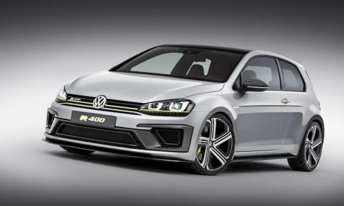 Volkswagen Golf R 400 concept shows performance potential