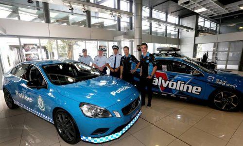 Volvo S60 Polestar police car given to NSW fleet