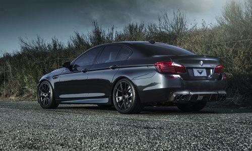 Sinister black Vorsteiner BMW M5