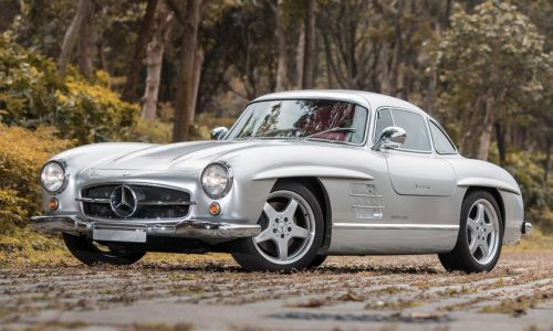 For Sale: 1954 Mercedes-Benz 300SL Gullwing with AMG V8