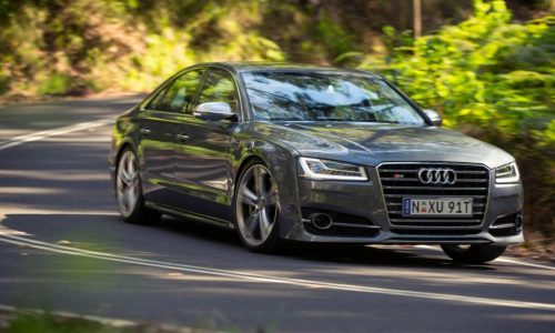 2014 Audi S8 now on sale in Australia from $279,000