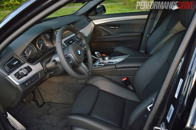 2014 BMW 520d M Sport-interior