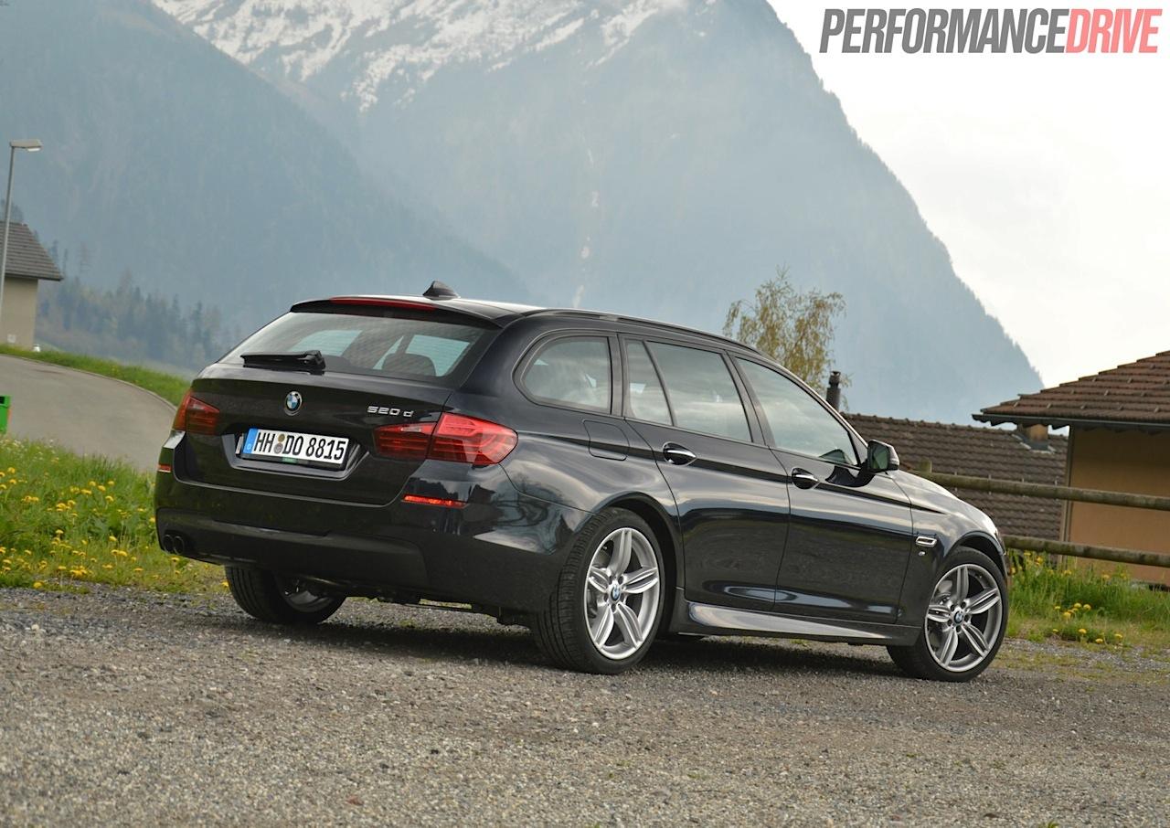 2014 Bmw 520d Touring M Sport Review Video Performancedrive