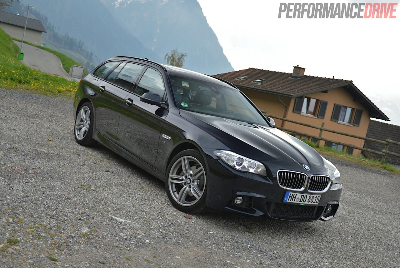 2014 BMW 520d Touring M Sport review (video ...