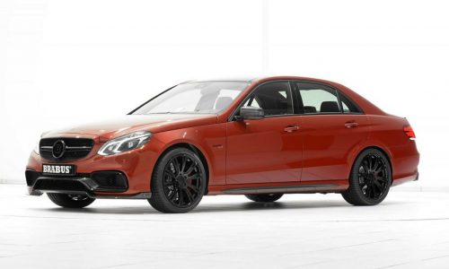 BRABUS 850 6.0 Biturbo is one seriosly tuned Mercedes E 63 AMG