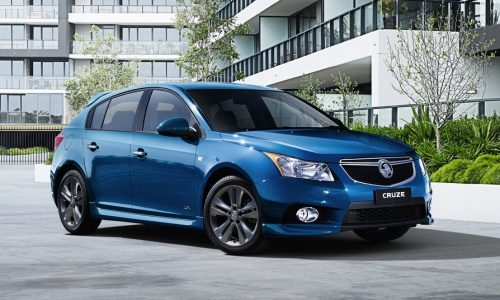 2014 Holden Cruze Z-Series on sale from $21,990