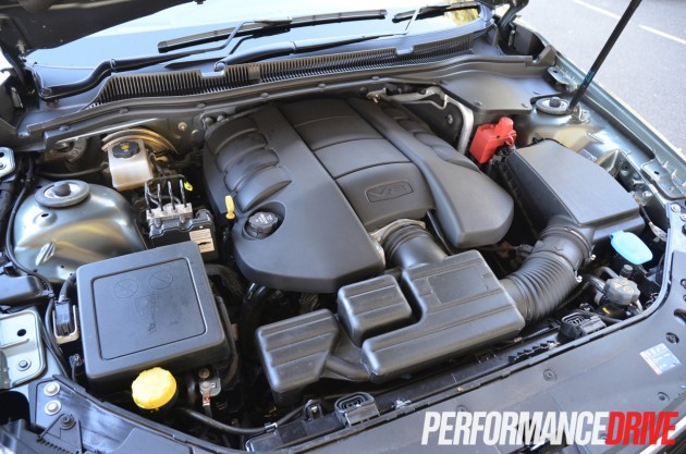 2014 Holden VF Commodore SS V Redline sedan engine