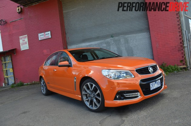 2014 Holden VF Commodore SS V front exterior