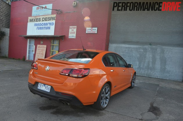 2014 Holden VF Commodore SS V rear side