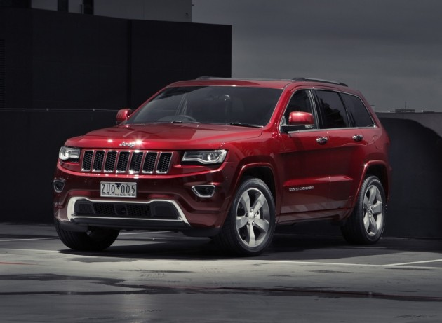 2014 Jeep Grand Cherokee Overland Deep Cherry Red